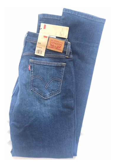 Pantalon Jeans Levis 529 Para Dama Talla 12 - 100% Original