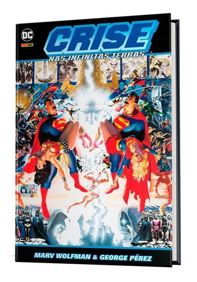 Crise Nas Infinitas Terras - Volume 1 -dc Comics