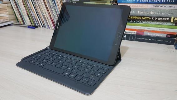Samsung Galaxy Tab S3 + Capa Teclado (fotos Reais)