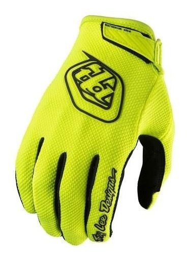 Guantes Motocross Troy Lee Air Niño Amarillo Fluor