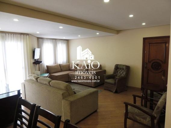 Apartamento De 117m² Com 3 Dormitórios 1 Suite 2 Vagas, Vila Galvão - Ap1172