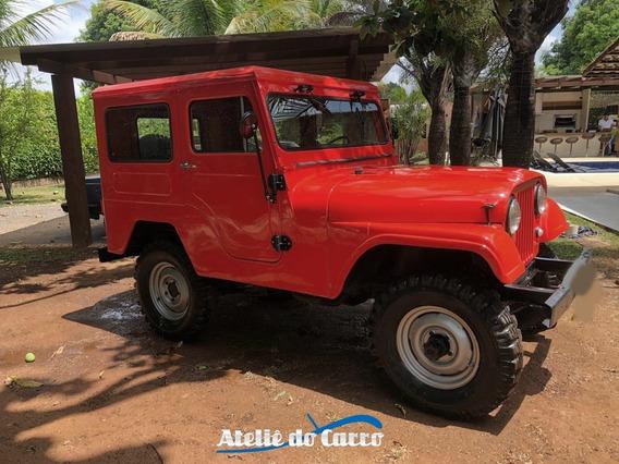 Jeep Ford 1983 Capota De Aço Raridade 4c 2.3 Impecável