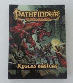 Libro Pathfinder Juego De Rol Reglas Basicas