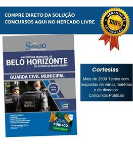 Apostila Guarda Municipal De Belo Horizonte 2019 - Gcm Bh