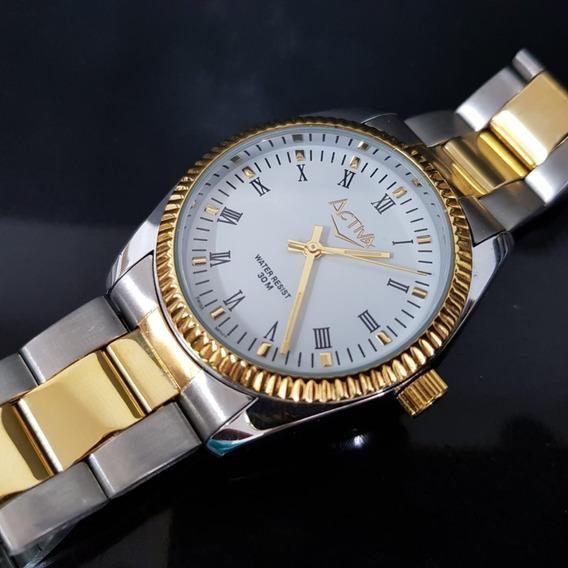 Relógio Masculino Activa Swiss Movement Misto Cifra Romana
