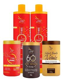 Zap All Time + Btx 950g + Banho Verniz + 60 Seconds + Brinde