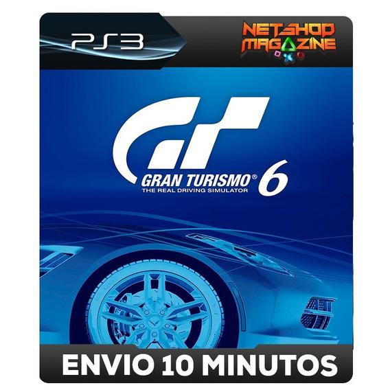 Gran Turismo 6 - Português - Psn Ps3 - Envio Imediato
