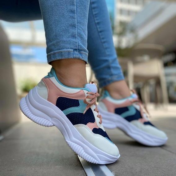 Tênis Feminino Chunky Sneaker Colors