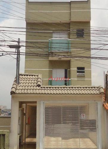Cobertura Com 3 Dormitórios À Venda, 66 M² Por R$ 426.000,00 - Parque Das Nações - Santo André/sp - Co0090