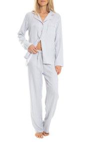 8694d28be6 Pijama Para Dama Camisa Y Pantalon! Algodon 100%! Talla L!