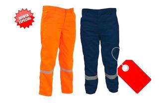Pantalón Para Trabajo En Drill