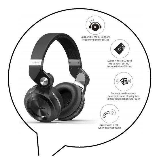 Fone Bluedio T2+ Plus Bluetooth 5.0 Fm E Microsd