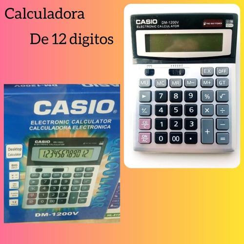 Calculadora Casio De 12 Digitos