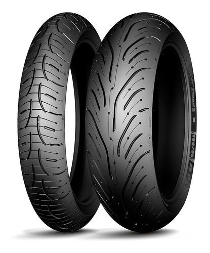 Cubiertas Michelin 120 70 17 + 190 55 17 Zr Pilot Road 4 Fas
