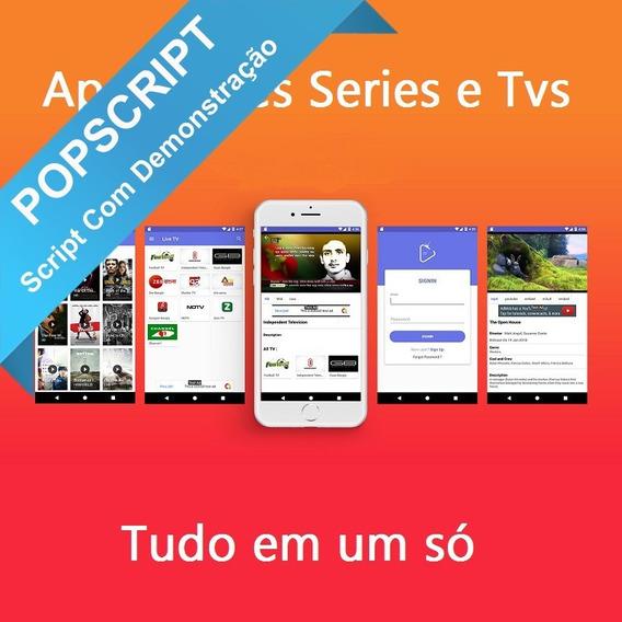 Oxoo Android Tv Script Código Fonte App Para Ovoo