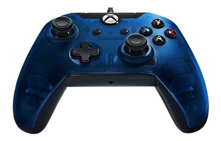 Control joystick PDP Xbox One Wired Controller blue