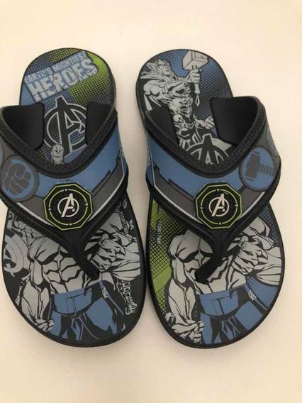 Chinelo Avengers Tamanho 28 Grendene