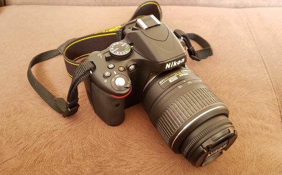 Câmera Dslr Nikon D5100 - Kit Completo Com Tripé E Mochila