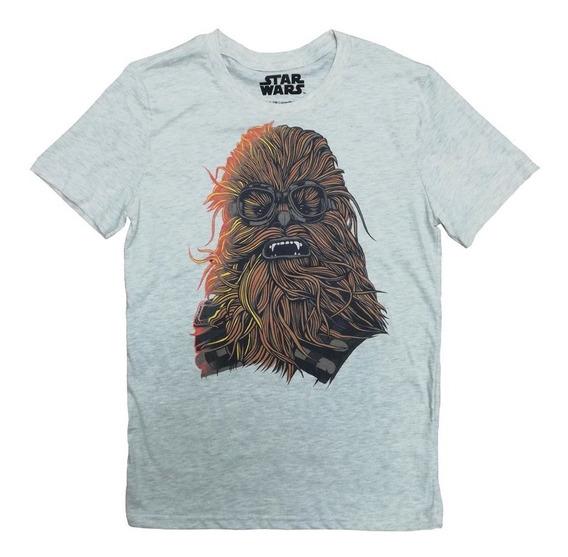 Aurimoda Playera Oficial Star Wars Cool Chewbacca Para Niño