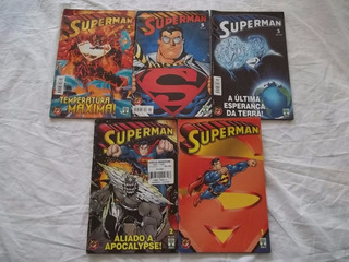Hq Lote 5 Gibis Superman Formatinho P32