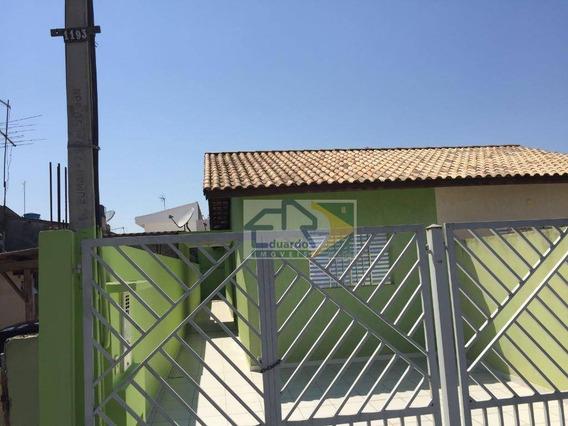 Casa Com 3 Dormitórios Para Alugar, 70 M² Por R$ 1.200/mês - Vila Figueira - Suzano/sp - Ca0219