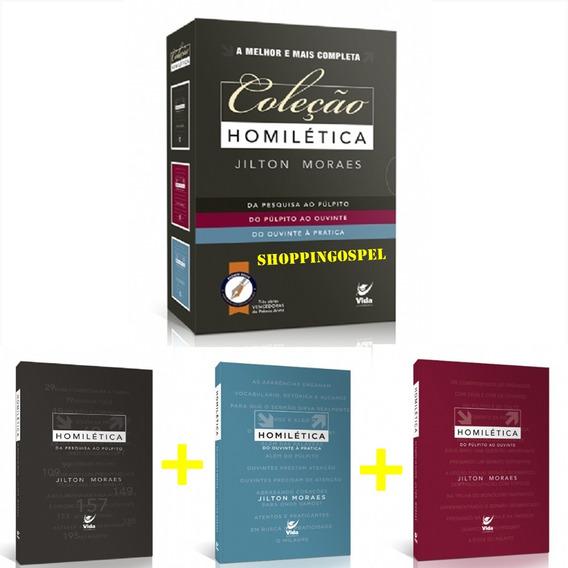 Coleção Homilética (box Com 3 Livros) - Jilton Moraes