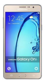 Celular Samsung Galaxy On 7 8gb Dourado Muito Bom Usado