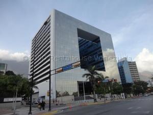Oficina En Alquiler En Los Palos Grandes 21-16873 Sj 04142718174