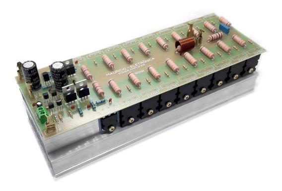 Placa Montada Amplificador Profissional 1600w C/ Dissipador