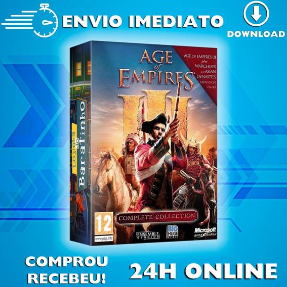Age Of Empire 3 + Expanções - Português Envio Imediato