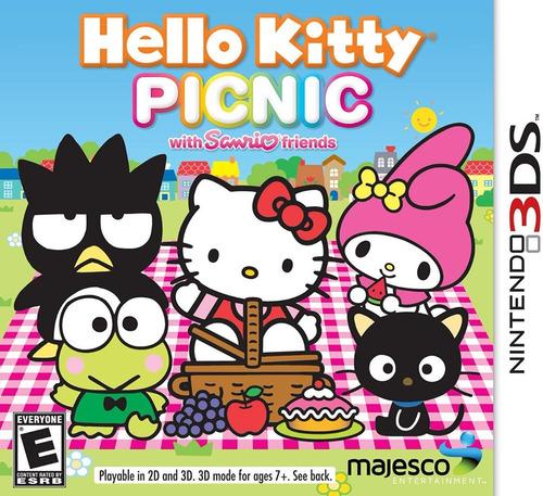 Hello Kitty Picnic With Sanrio Friends Nintendo 3ds Dakmor