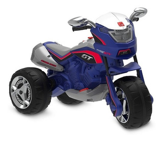 Super Moto Gt Turbo (azul) Elétrica 12v 2660 Bandeirantes