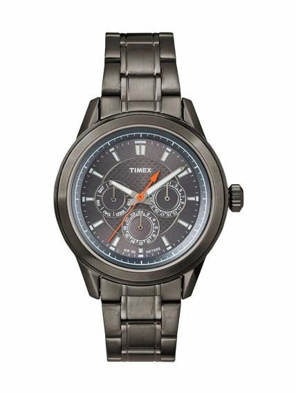 Relógio Masculino Multifunção Timex Aço Inoxidável