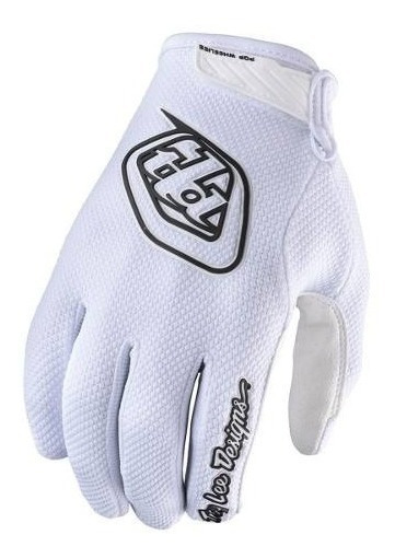 Guantes Motocross Troy Lee Air Blanco