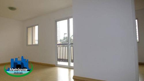Apartamento Com 3 Dormitórios À Venda, 66 M² Por R$ 315.000 - Vila Augusta - Guarulhos/sp - Ap1309