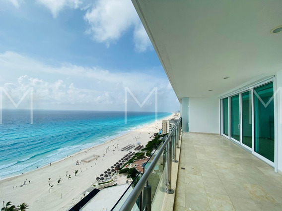 Departamento En Renta / Venta Frente Al Mar, Emerald Cancun