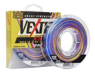 Linha Pesca Multifilamento Vexter X8 30lb 0,25 Multicolorida