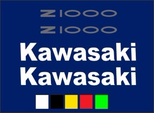 Kit Adesivo Kawasaki Z1000