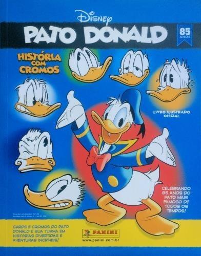 Álbum Figurinhas Pato Donald - Completo - Para Colar