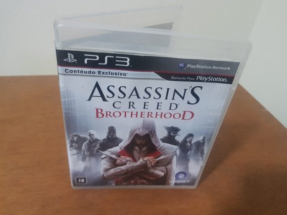 Assassins Creed Brotherhood Usado Ps3 Mídia Física