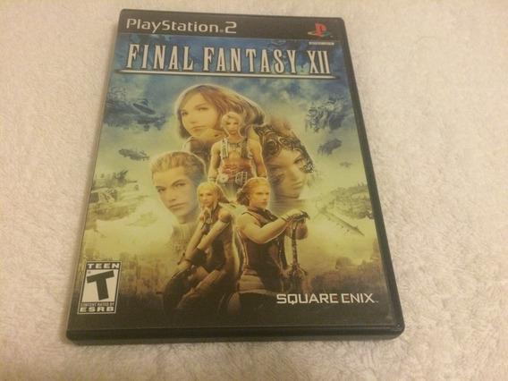 Final Fantasy Xii (sony Playstation 2, 2006) Para Coleção