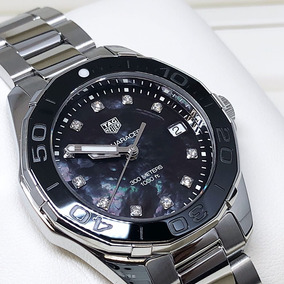 Relógio Tag Heuer Aquaracer Feminino Way131m.ba0748 Diamond