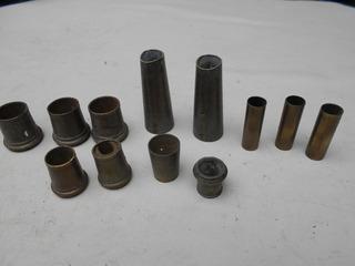 Regatones Varios Bronce Antiguo Lote X 10 (llave)