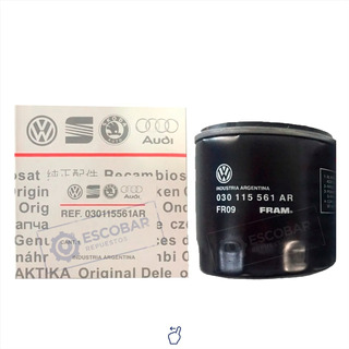 Filtro De Aceite Gol Trend Vw Original 030 115 561 Ar