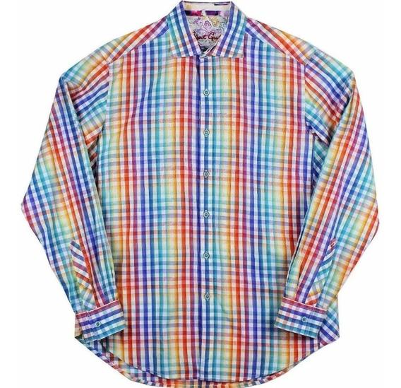 Camisa Robert Graham Colors Para Hombre Talla M
