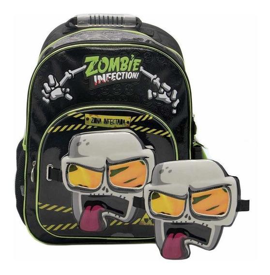 Mochila Espalda Zombie Infection 16 P Mascara Cresko @ Mca