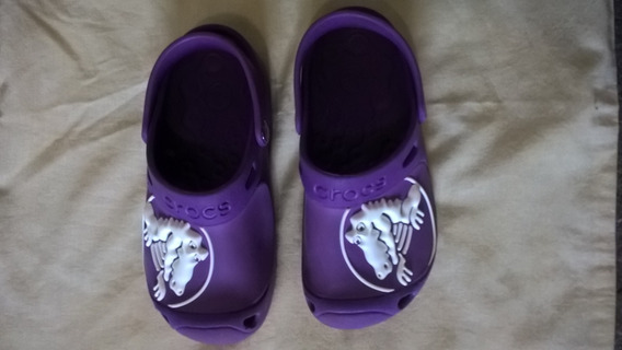 Crocs Infantil Roxo