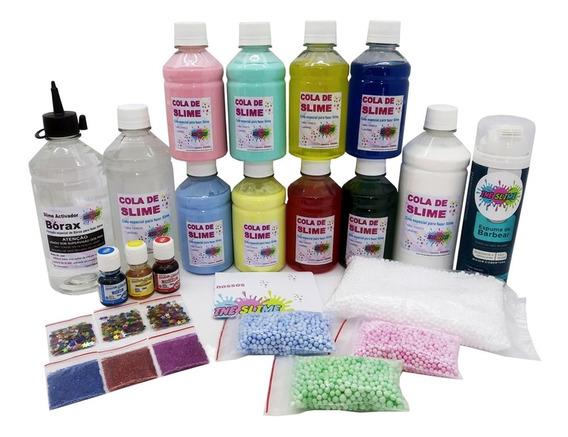 Kit Slime Para Fabricar Com As Crianças