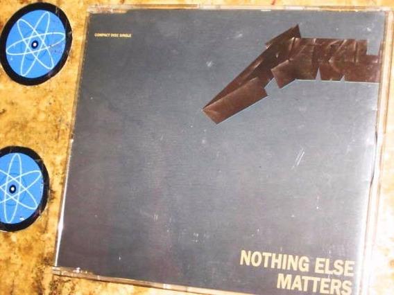 Cd Single Imp Metallica - Nothing Else Matters (1992)