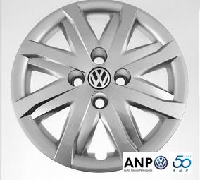 1 Calota Aro 14 Original Volkswagen Gol Voyage G4 G5 4 Furos